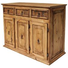 rustic pine sideboards and mexican rustic sideboards