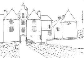 Castle Coloring Pages Hellokids Com Coloring Pages Castles