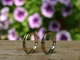How To Make Inlay Jewelry - wedding ring forever in white gold with wood inlay the jewelry story