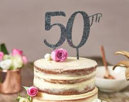 50 birthday cake large 50th birthday cake topper cake topper for 50th