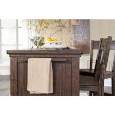 kitchen island sets trudell kitchen island set casual dining sets dining room and