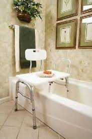 Toilet To Tub Sliding Transfer Bench Bathtub Transfer Bench Bathroom Safety Ebay