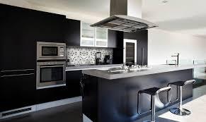 cuisine en noir demeures du nord cuisine