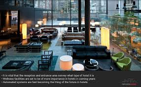 the newest hotel design trends to expect at towards the end of