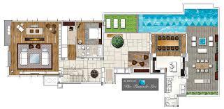 floor plan u2013 house of the tree penthouse u2013 bao u0027an south road