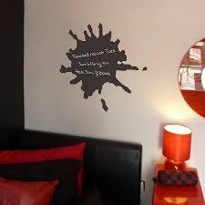 splat chalkboard wall sticker by nutmeg notonthehighstreet com splat chalkboard wall sticker
