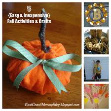 east coast mommy 5 easy and inexpensive fall crafts and activities