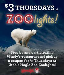 zoo lights at hogle zoo 3 thursdays at utah s hogle zoo zoolights utah sweet savings