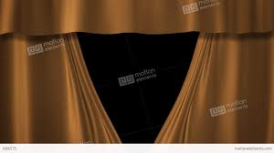 Gold Curtain Champagne Gold Curtains Stage Stock Animation 668575