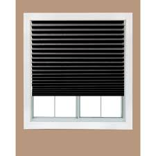 Interior Window Shutters Home Depot by Redi Shade Black Out Paper Window Shade 36 In W X 72 In L
