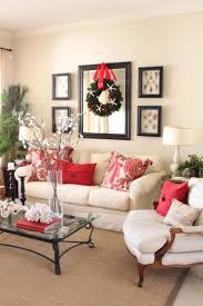 How To Decorate A Large Wall by Picture And Mirror Frame Set Up In Family Room Above Couch