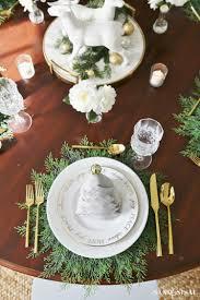 christmas dinner tablesetting ideas sand and sisal