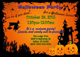 Childrens Halloween Birthday Party Invitations Halloween Party Invites Party Invitations Templates