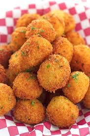 Thanksgiving Potato Recipe Loaded Mashed Potato Balls For Thanksgiving Leftovers Recipe