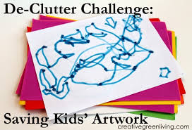 Challenge What To Do De Clutter Challenge What To Do With Artwork Creative