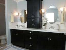 bathroom black bathroom vanity double vanity granite bathroom