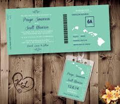 printable boarding pass wedding set digital pdf destination save