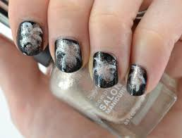 22 bold black nail designs more com