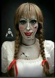 Halloween Costumes Broken Doll Broken Doll Makeup Coiffure Doll Makeup Broken