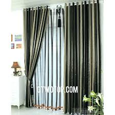 Black And White Stripe Curtains Black And White Stripe Curtains Woodio