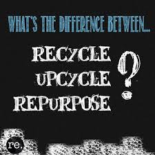 Repurpose Upcycle - what u0027s the difference between recycle upcycle and repurpose
