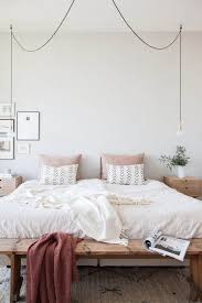 Hanging Light For Bedroom 12 Minimal Rustic Bedrooms That Will Call You To Relax Bedrooms