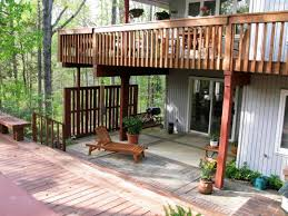 Deck Ideas For Backyard by Creative Outdoor Deck Ideas Best House Design