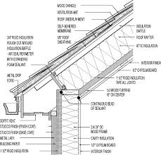 Encyclopedia Wood Joints Pdf by Vented Roof For Cold Climate Cathedral Ceiling Wood Shingle