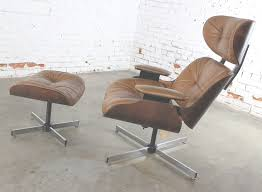 Wood And Leather Lounge Chair Design Ideas Sold Mid Century Modern Plycraft Eames Style Lounge Chair And New