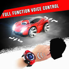 light up remote control car kftoys r 102 smart watch voice command rc car 1 301 30 2 4ghz