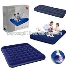 cheap easy inflate double airbed built in foot pump air mattress