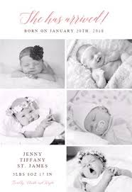 55 best birth announcement templates images on pinterest birth
