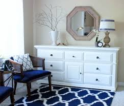 Navy And White Bedroom Designs Master Bedroom Makeover Erin Spain