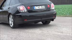 2005 lexus is300 wagon lexus is 300 exhaust made by fiberdynamix youtube