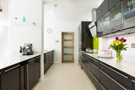 brick backsplash german kitchen cabinets transitional london with
