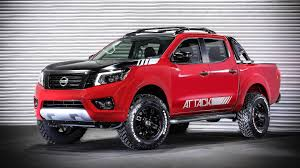 nissan frontier custom nissan frontier attack concept shows extra off road prowess