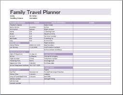 8 best images of travel calendar template family travel planner