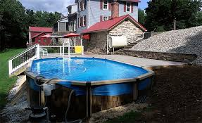 above ground pool landscaping gallery landscapes and