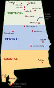 Map Of Alabama Cities Alabama Bicycle Coalition
