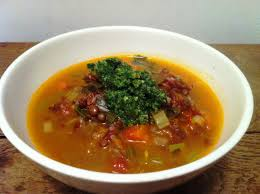 envie de cuisiner minestrone au pesto envie de cuisiner