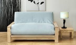 Single Pine Futon Sofa Bed With Mattress Single Futon Sofa Bed With Mattress Aecagra Org
