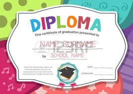 preschool graduation certificate kindergarten graduation stock photos royalty free business images