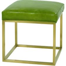 Rowe Ottoman Percy Leather Cube Ottoman By Rowe Furniture Home Gallery Stores
