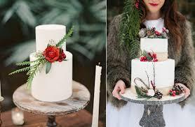 christmas wedding cakes winter woodland wedding cakes cake magazine