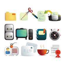 telecharger icone bureau vecteur d icône de bureau vector icon vecteur libre téléchargement
