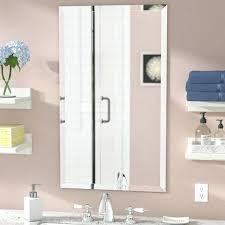 Rectangular Bathroom Mirrors Beveled Bathroom Mirror Beveled Rectangular Wall Mirror Beveled