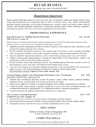 district manager resume sample retail resignation letter it