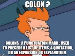 Punctuation Meme - english los angeles esl memes for english students