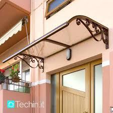 pensilina tettoia in policarbonato plexiglass policarbonato trasparente prezzi le migliori idee di design per