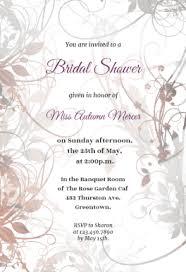 floral bridal shower free bridal shower invitation template